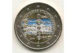2 Euro Oostenrijk 2005 Staatsverdrag Gekleurd 010/?