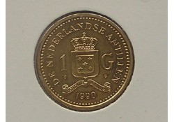 1 Gulden Nederl. Ant. 1990 FDC