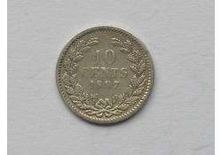 10 Cent 1887 ZF