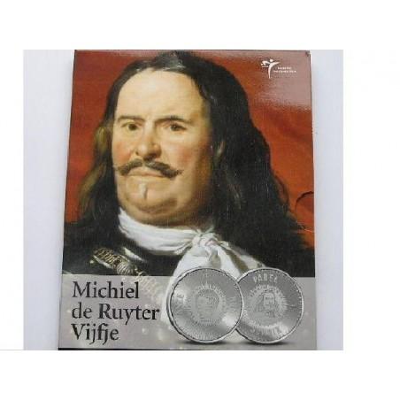 Nederland 2007 5 euro Michiel de Ruyter.Proof