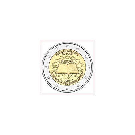 Nederland 2007  2 euro Verdrag van Rome Unc