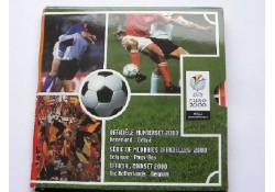 5 Gulden 2000 voetbal FDC EK set