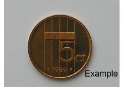 5 Cent 1989 Unc