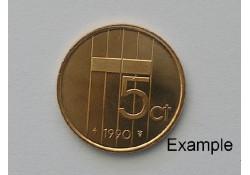 5 Cent 1990 Unc