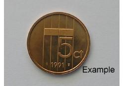 5 Cent 1991 Unc