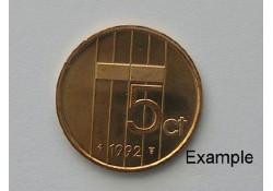 5 Cent 1992 Unc