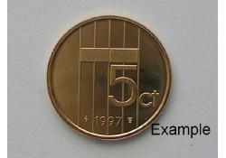 5 Cent 1997 Unc