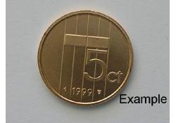 5 Cent 1999 Unc