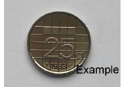 25 Cent 1983 Unc