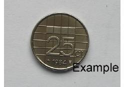 25 Cent 1984 Unc