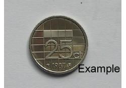25 Cent 1987 Unc