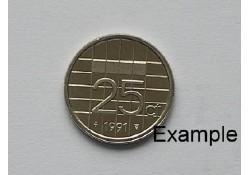 25 Cent 1991 Unc