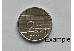25 Cent 2001 Unc