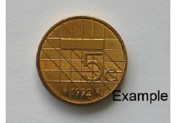 5 Gulden 1992 Unc