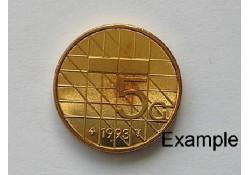 5 Gulden 1993 Unc