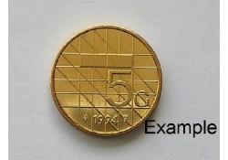 5 Gulden 1994 Unc