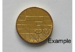 5 Gulden 1996 Unc