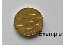 5 Gulden 1997 Unc