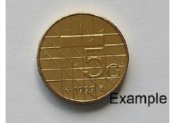 5 Gulden 1999 Unc
