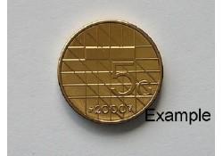 5 Gulden 2000 Unc