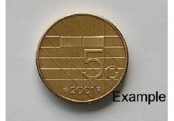 5 Gulden 2001 Unc