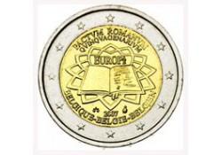 2 Euro België 2007  Verdrag van Rome Unc