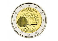 2 Euro Luxemburg 2007  Verdrag van Rome Unc
