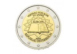 2 Euro Oostenrijk 2007  Verdrag van Rome Unc