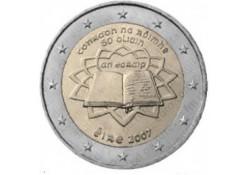 2 Euro Ierland 2007  Verdrag van Rome Unc