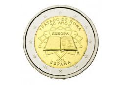 2 Euro Spanje 2007 Verdrag van Rome Unc