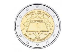 2 Euro Griekenland 2007 Verdrag van Rome Unc