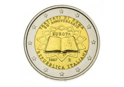 2 Euro Italië 2007 Verdrag van Rome Unc