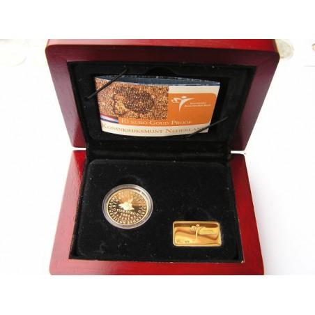 Nederland 2004 10 euro Koninkrijksstatuut Goud Proof