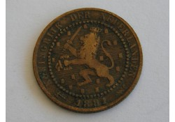 1 Cent 1881 ZF