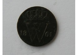 1/2 Cent 1861 ZF