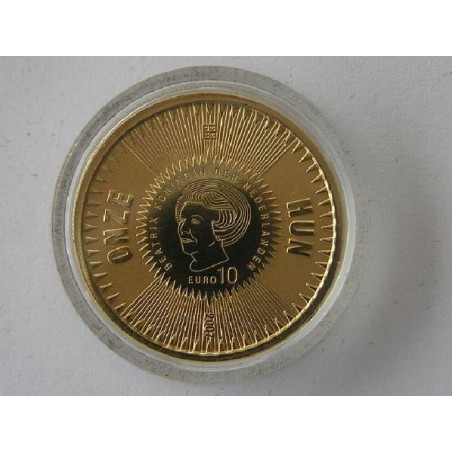Nederland 2007 10 euro Michiel de Ruyter Goud Proof