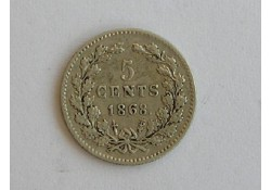 5 cent 1868 ZF