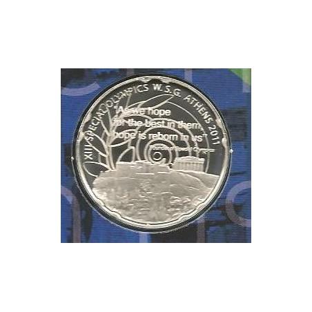 Bu set Griekenland 2011 met de 10 euro Olympics Hope (Acropolis)