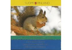 Bu set Finland 2009 Met de eerste 8  2 euromunten