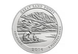 KM ??? U.S.A ¼ Dollar Shenandoah 2014 D UNC