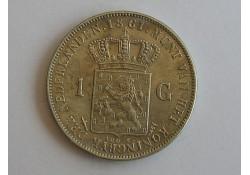 1 Gulden 1861 PR+