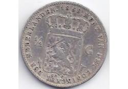 ½ gulden 1858 F