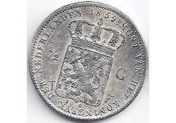½ gulden 1859 ZF-