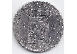 ½ gulden 1860 F-