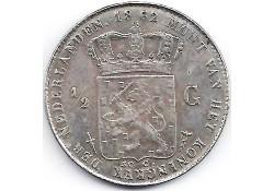 ½ gulden 1862 ZF+