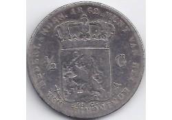 ½ gulden 1862 G+