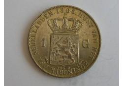 1 Gulden 1865 PR+