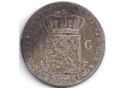 ½ gulden 1862 G