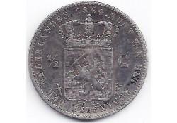 ½ gulden 1864 F