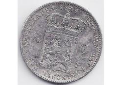 ½ gulden 1864 F-
